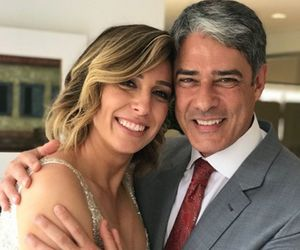 William Bonner e esposa deletam perfis no Instagram; saiba motivo